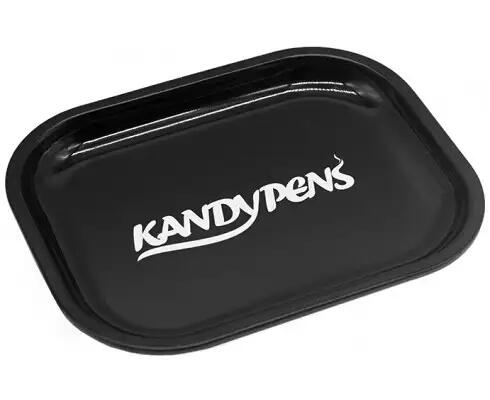 Large Black Rolling Tray