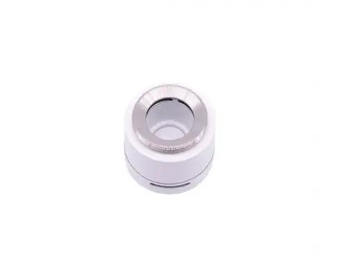 Crystal 2 White Ceramic Plate Atomizer