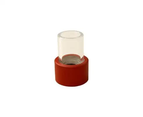 SESSION Red Glass Mouthpiece